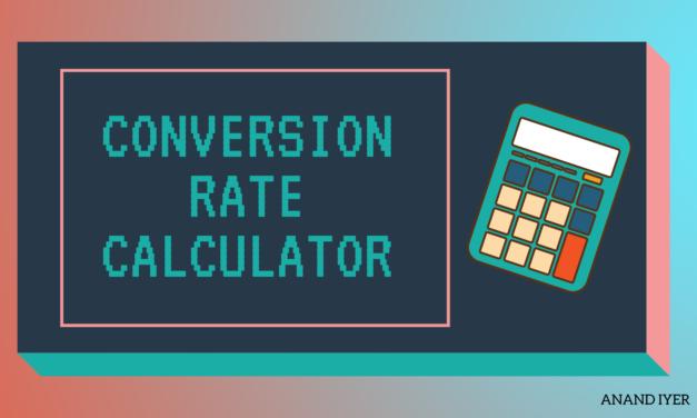 Digital Marketing Website Conversion Rate Calculator