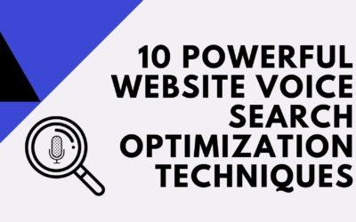 10 powerful website voice search optimization techniques