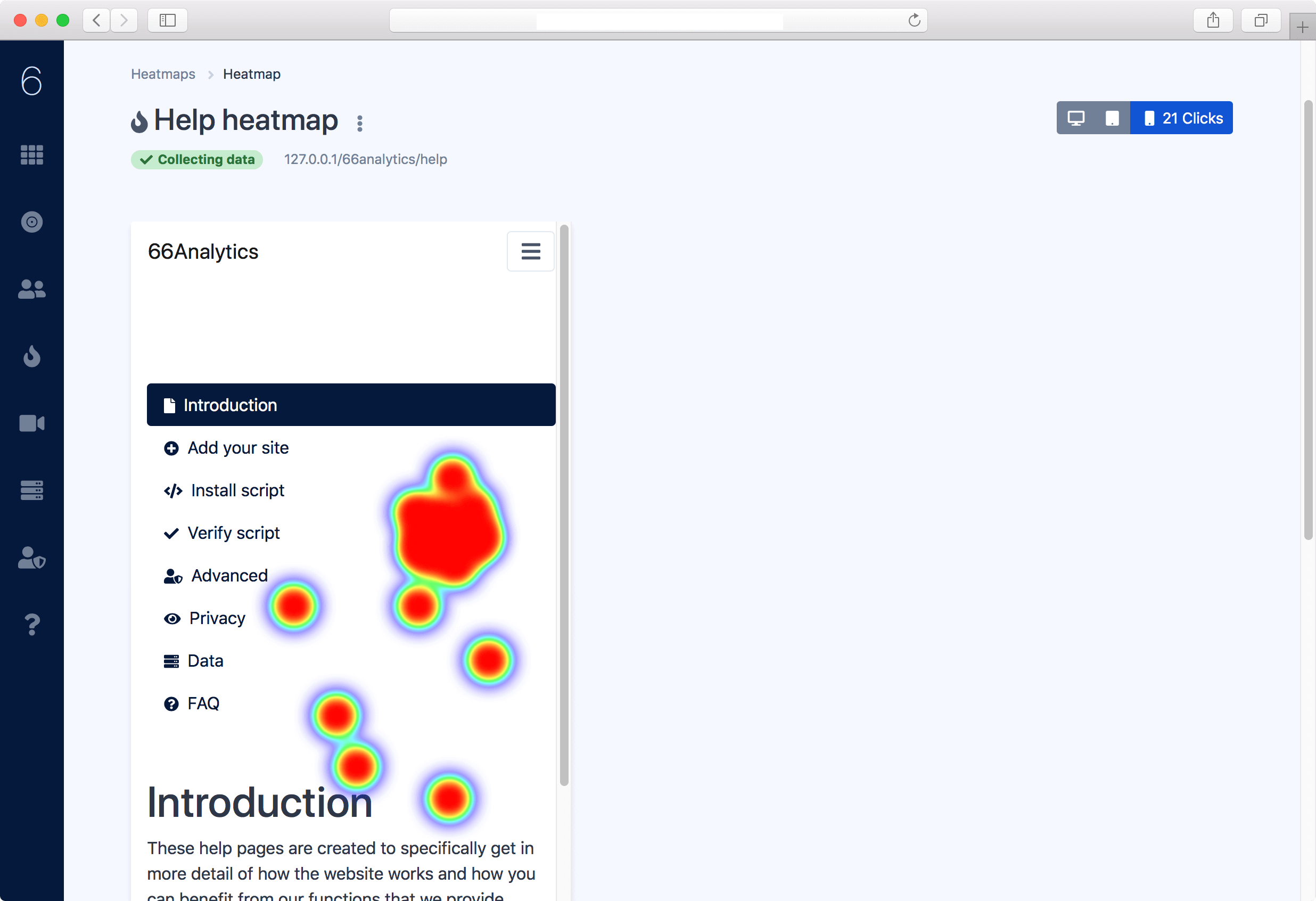 Free Website analytics Tool and heatmap Tool For Your Business