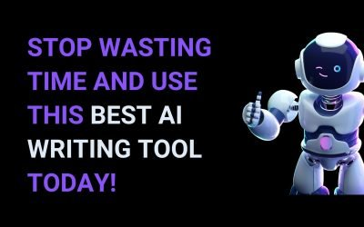 A Wake up call for Content Marketers: Stop wasting time and use this best AI writing tool today!